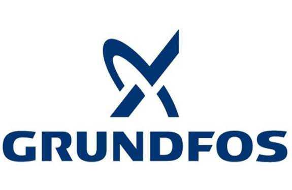 Il gruppo Grundfos, la cui casa madre si trova a Bjerringbro in Danimarca, è rappresentato da oltre 80 società di vendita, assistenza e produzione sparse in 55 nazioni. L'azienda conta il tutto il mondo quasi 18.000 dipendenti.