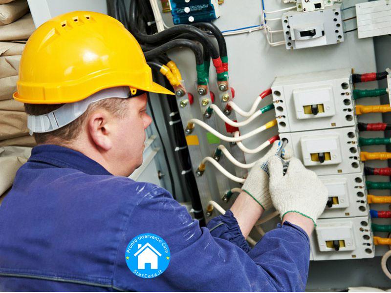 Pronto Intervento Elettricista, sistemazione guasti elettrici 24h a Lecco